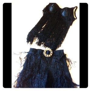 Flapper inspired outfit  S rave vintage gothic